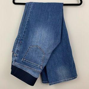 Liz Lange maternity jeans (Target)